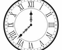 clock 009